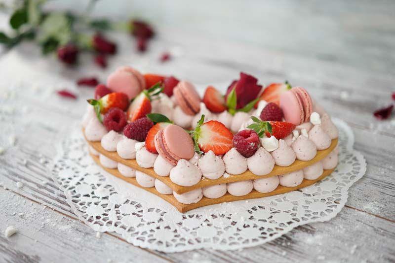 Herz Tarte Letter Cake Kekstorte Kuchentrend 2018 Kuchen Und Torten Fruchttortchen Kekstorte