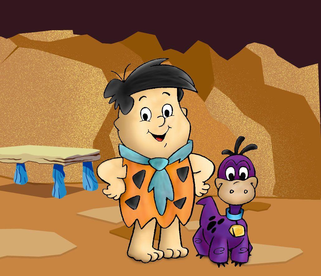 freddie and dino in the flintstones kids flintstones and