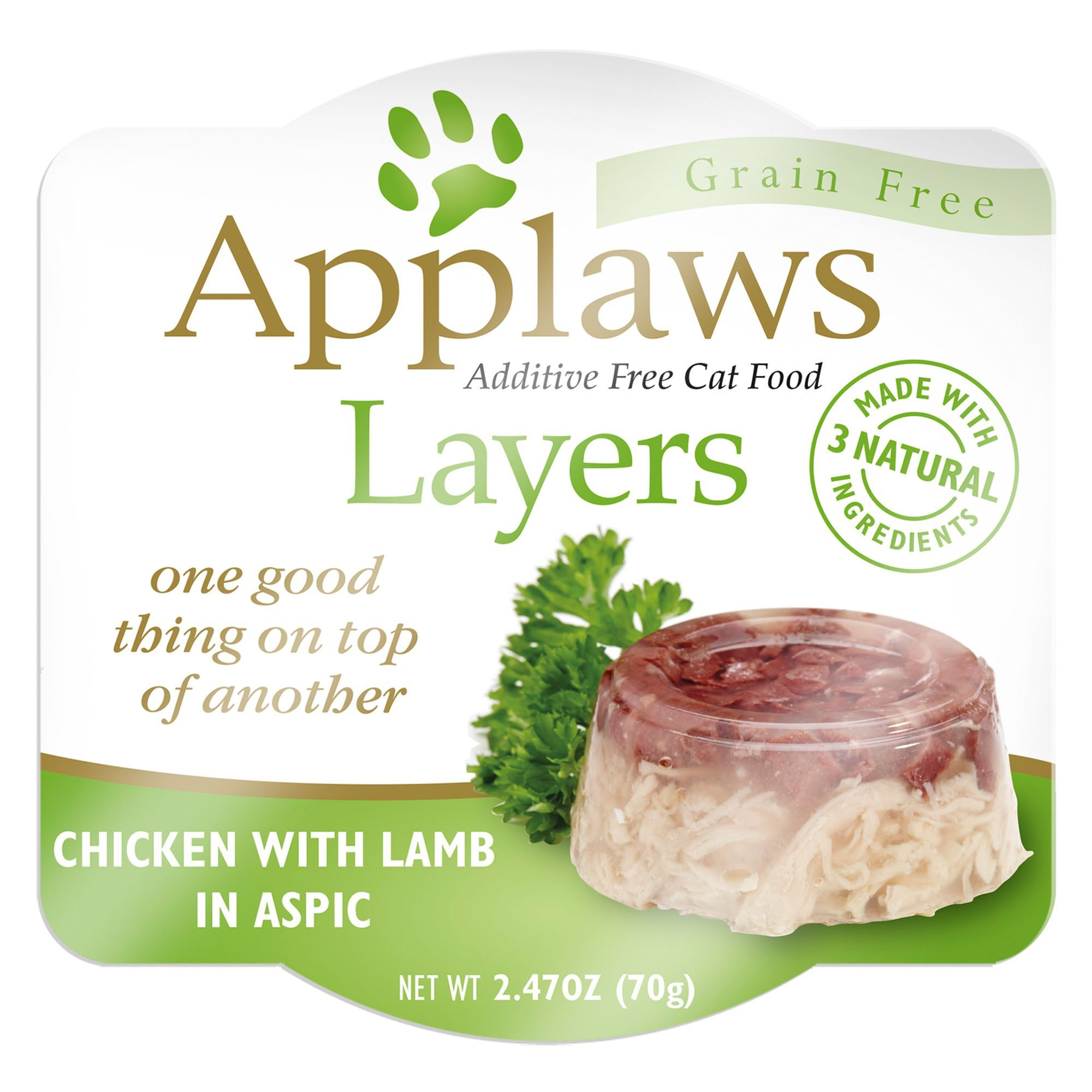 Applaws Layers Wet Cat Food Natural, Grain Free, Limited