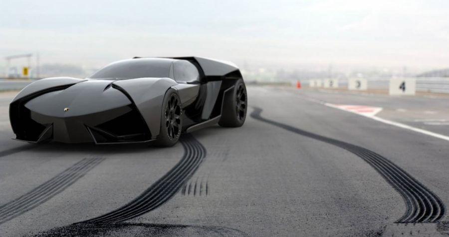 Lamborghini Ankonian, or batmobile?