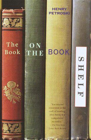 The Book on the Bookshelf by Henry Petroski https://www.amazon.com/dp/0375706399/ref=cm_sw_r_pi_dp_x_EX2IybMJ7RTXA