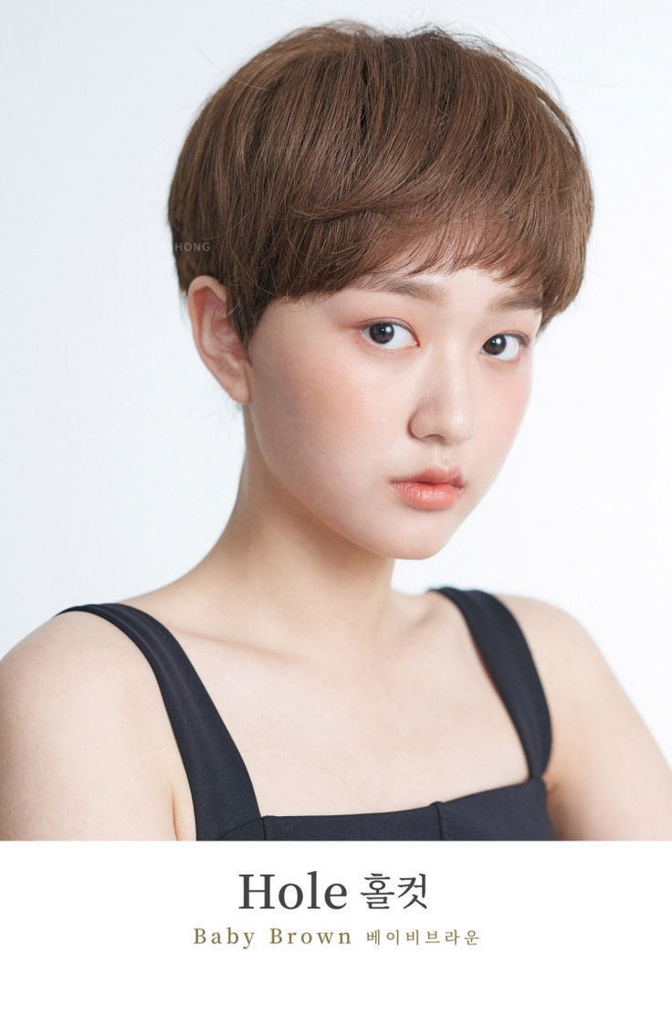 I want to try Korean short hair! Korean goddess hair style pusher ChaHong released 12 models ... I