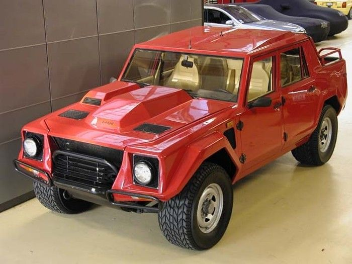 Yes This Is A Lambo Look It Up Lm002 Lamborghini Lambo Offroad Vehicles