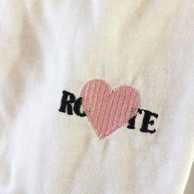 Rodarte embroidered t-shirt.  #Rodarte #shopsuperstreet