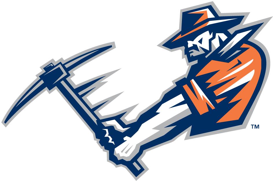Miners Logo Utep Miners Alternate Logo Ncaa Division I U Z Ncaa U Z El Paso Fun To Be One Logos