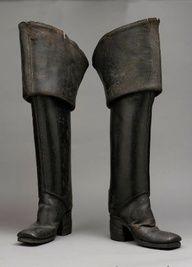 Botas inspiradas en la época barroca