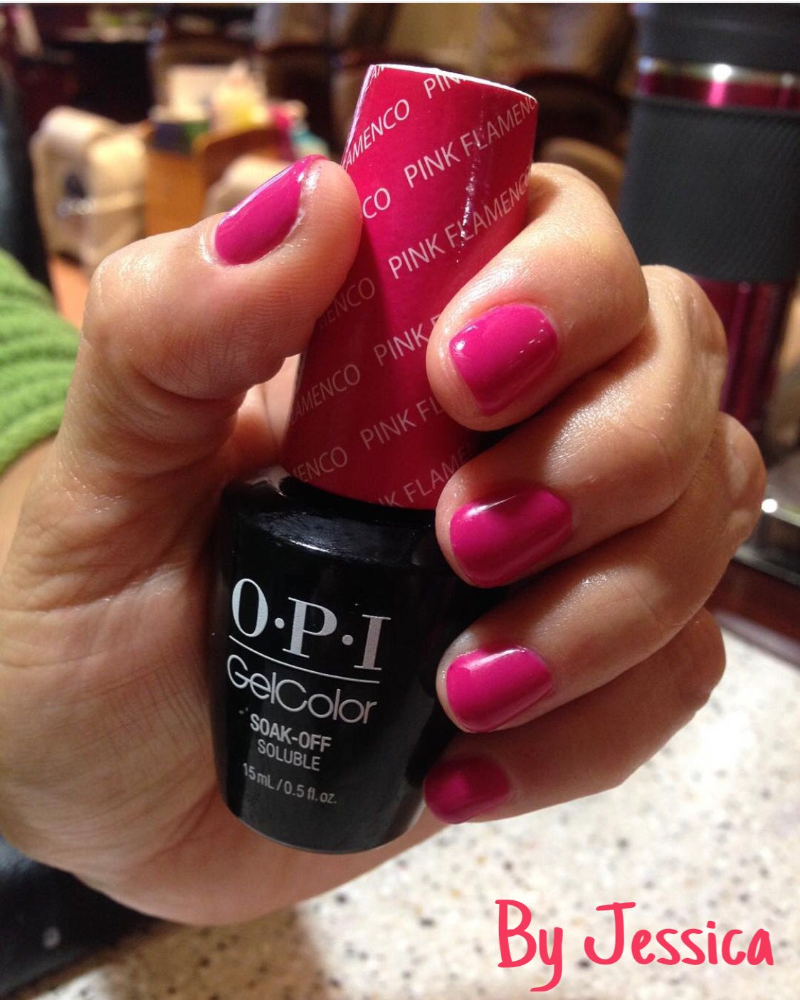 Opi gel color pink flamenco by jessica gel nails opi gel color pink flamenco by jessica nvjuhfo Images