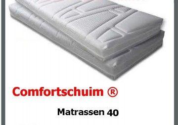 Comfortschuim ® Matrassen 40 stevig