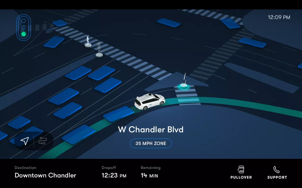 I rode in Waymo's new selfdriving taxi service in 2020