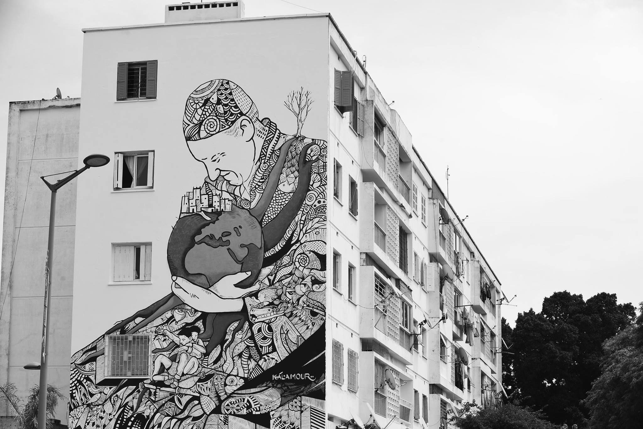 graffiti - Rabat - Jidar 2015