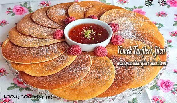 Pankek Tarifi | TARIF--KEKLER-TURTA VE TARTLAR | Pinterest ...