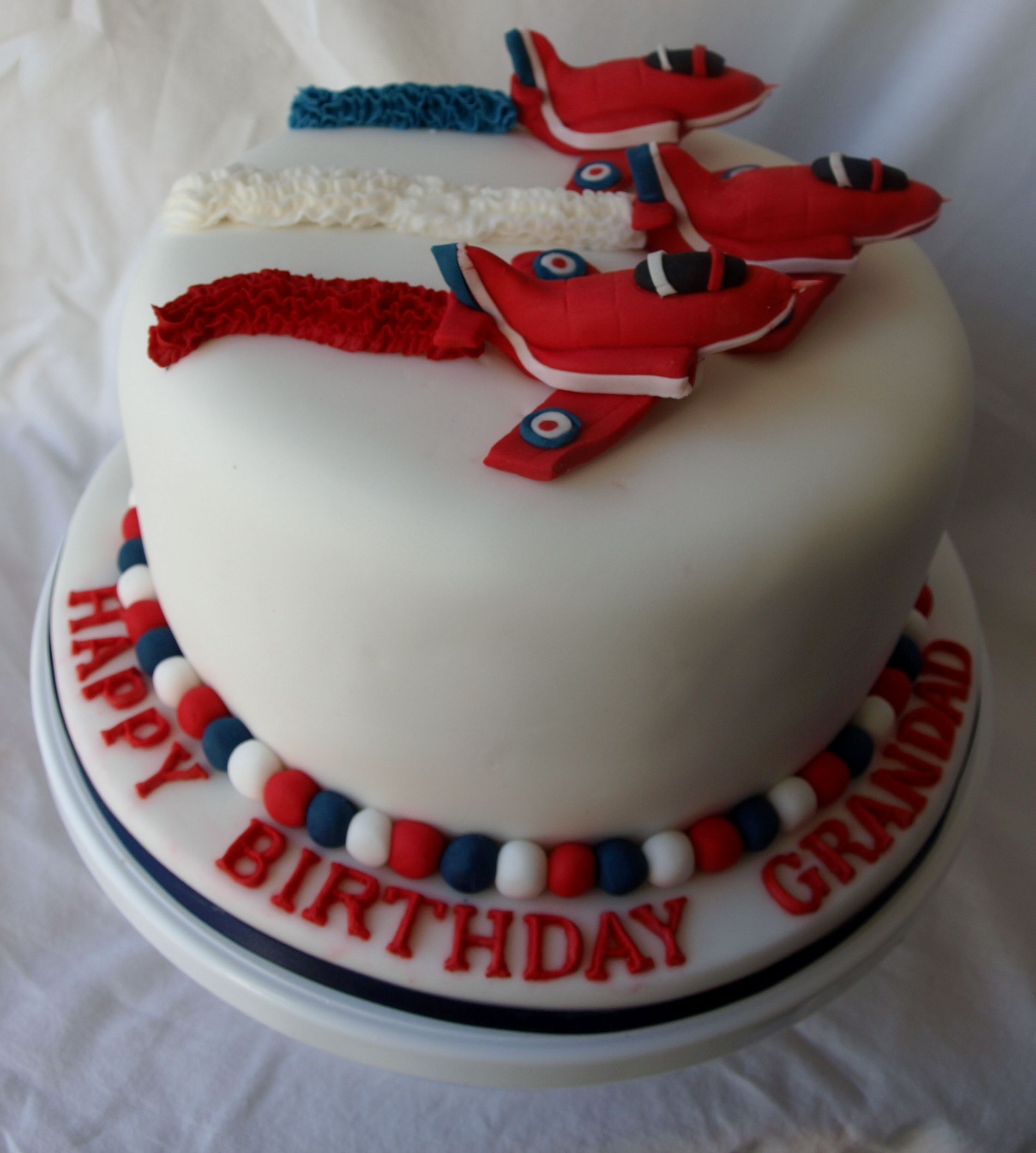Red Arrow Cake