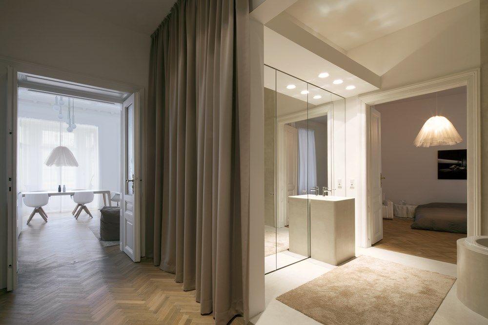 Een kijkje in ons droomhuis in wenen met visgraat vloer apartments