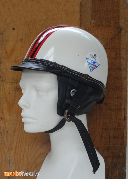 Collection Ancien Casque Bol Everest Italie Vespa Mobylette