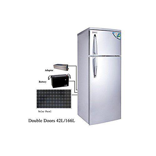 Cowin 12v Dc Solar Refrigerator Both Way To Charge 42l 166l Csr 238 Bigger Capacity Solar Refrigerator Solar Solar 12v