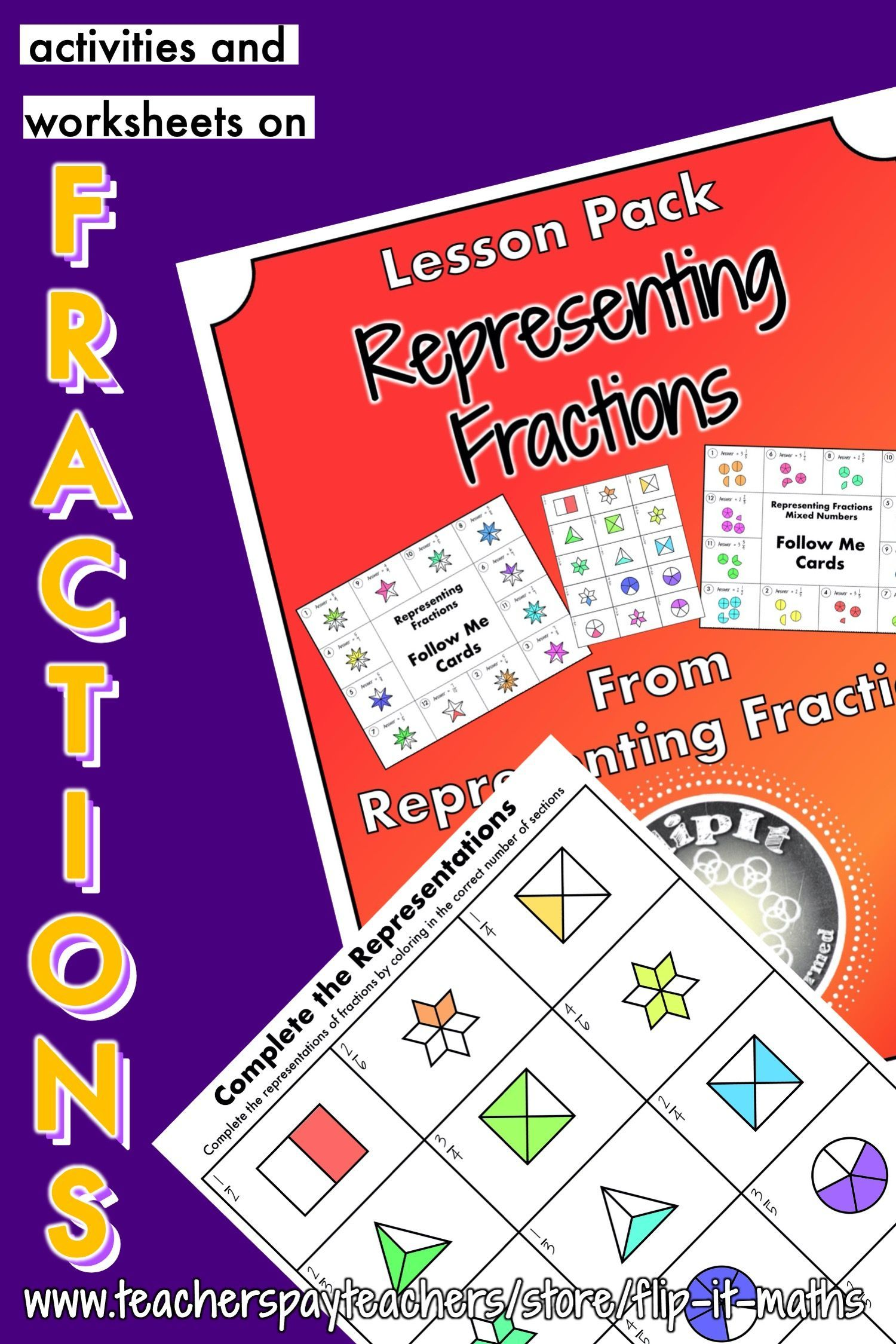 Representing Fractions In