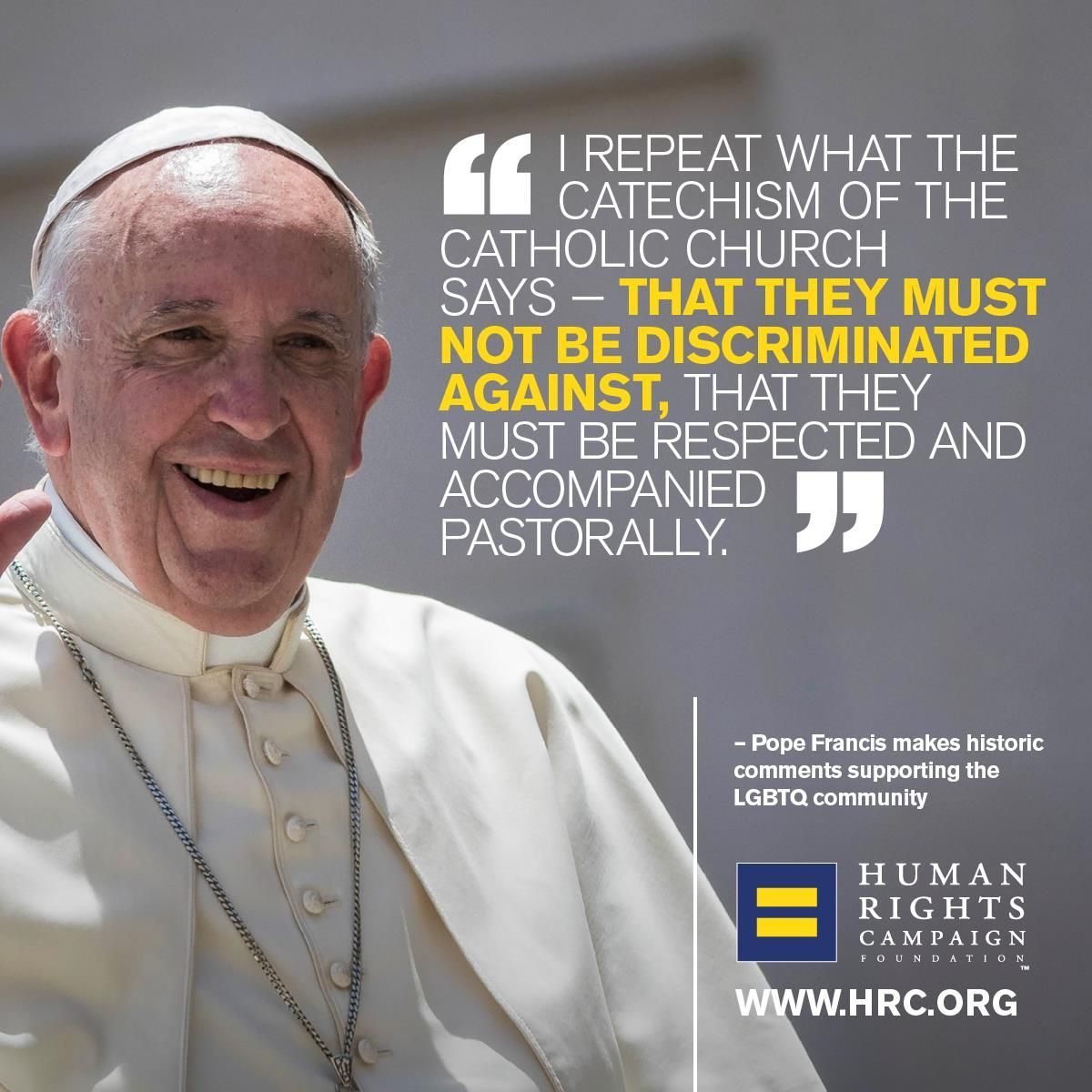 pope on lgbt