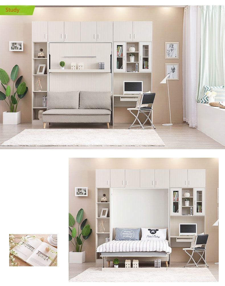 Tb1001 Customized Multifunctional Quality Modern Wall Bed
