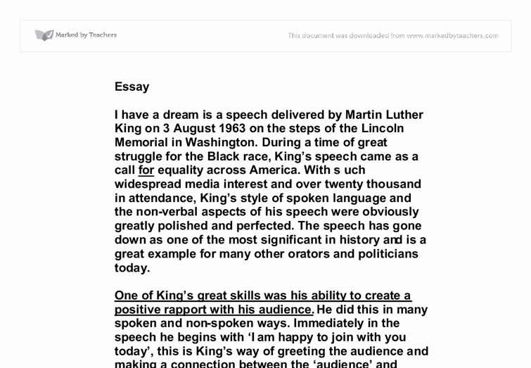 American Dream Essay Title Lovely I Have A Speech Titles