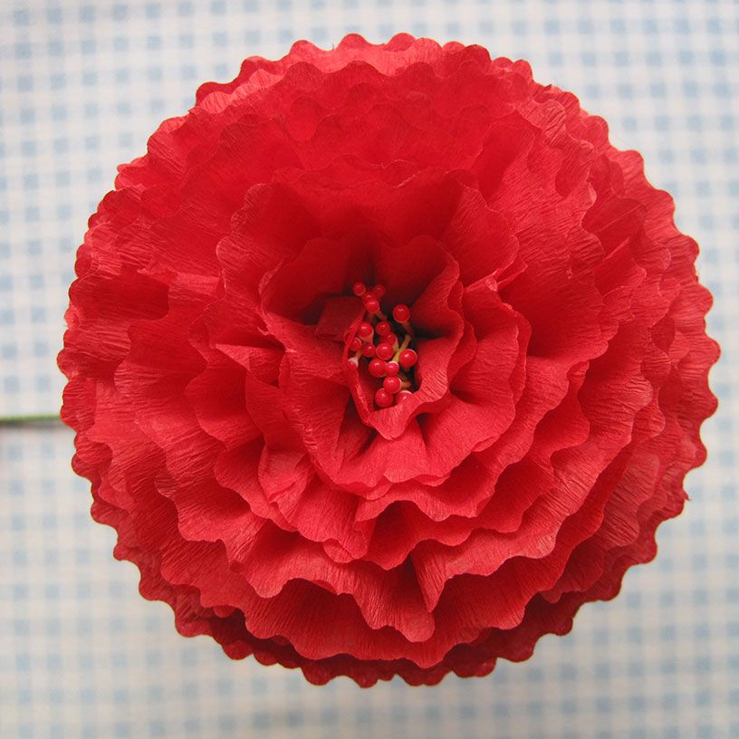 Q Is For Quilter Blog Archive Crepe Paper Flowers Using