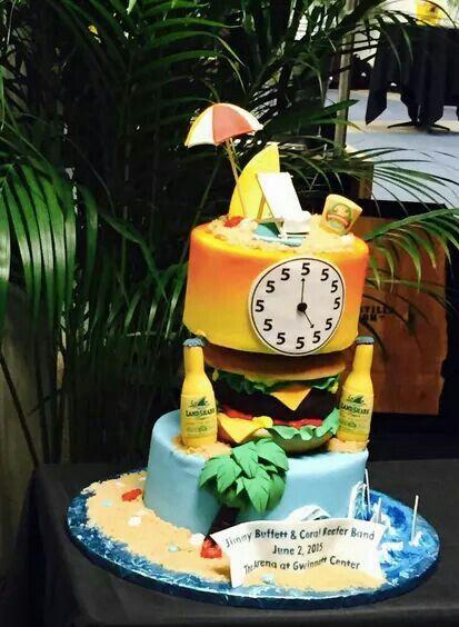 Margaritaville Themed Birthday Cakes