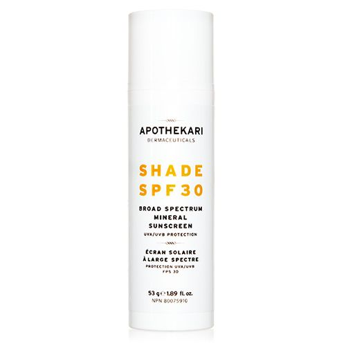 Shade SPF 30 Mineral Sunscreen with Zinc Oxide