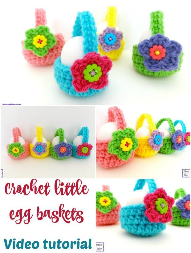 How to crochet egg basket video perfect for the easter egg hunt how to crochet egg basket video perfect for the easter egg hunt negle Images