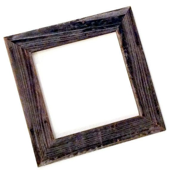Reclaimed Wood Frame, Large Size Made to Order - Custom! by ...