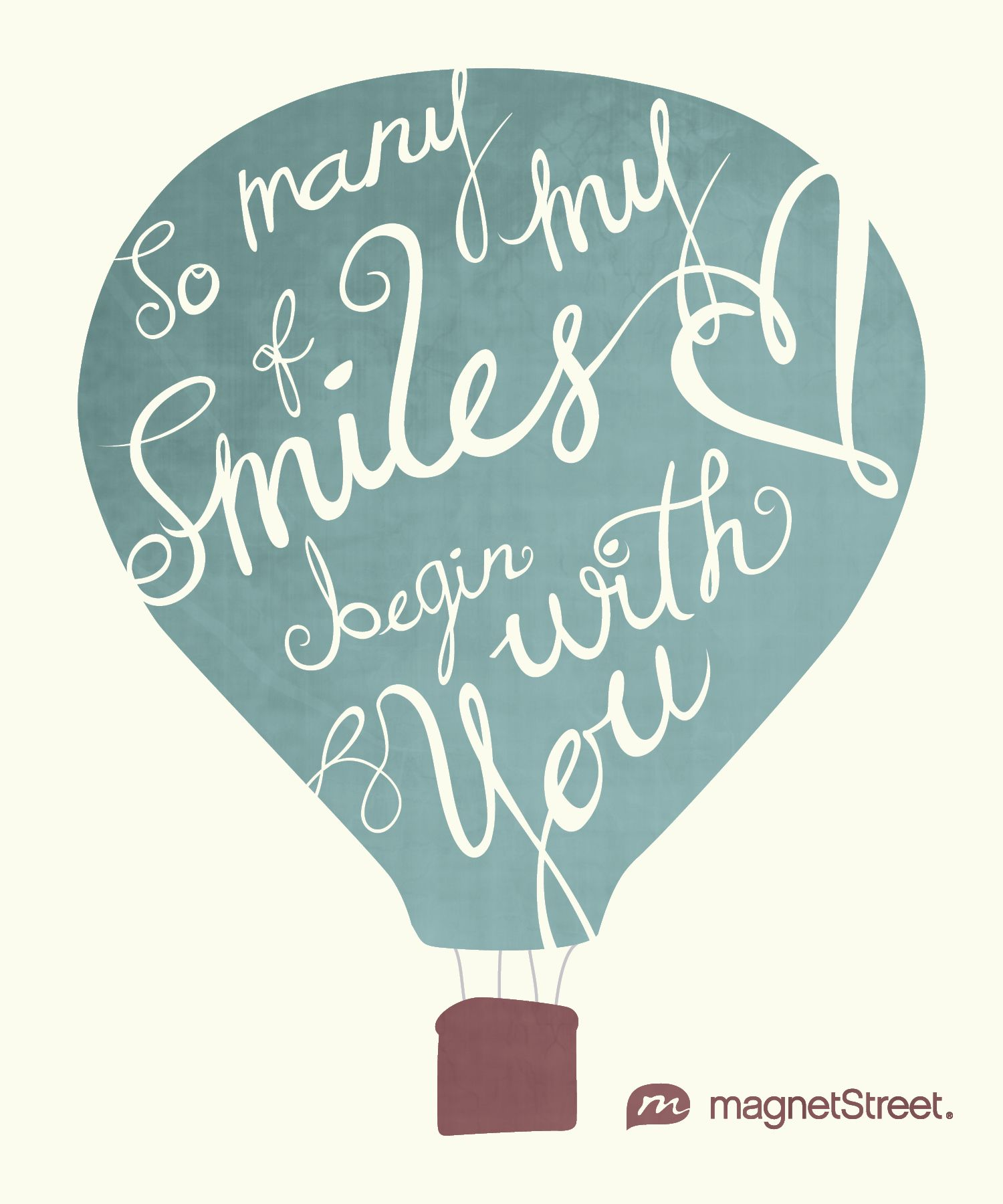 Smile poems and quotes - So Many Of My Smiles Begin With You Magnetstreet Wedding Poemspoem Quotesdiy