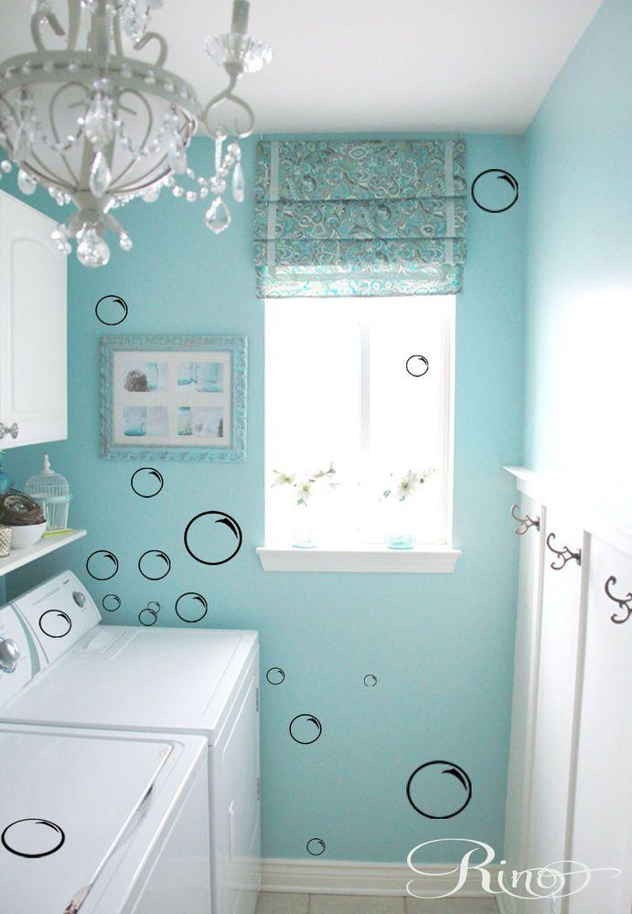 Soap bubbles bath DECALS 105 Wall Art