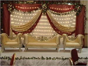 india wedding backdrop google search wedding stage decorationsengagement - Stage Decorations