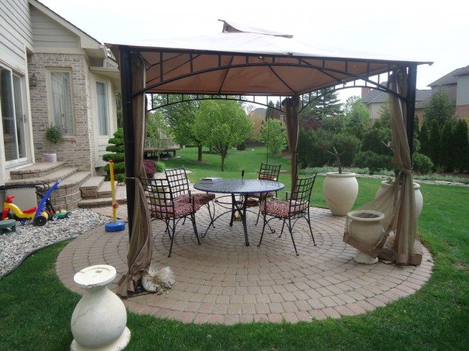 Awesome Garden Gazebo Design With Bandstand Gazebo Plans Roof Garden Gazebo Ideas Garden Landscaping Ideas Backyard Or Front Yard Altanok