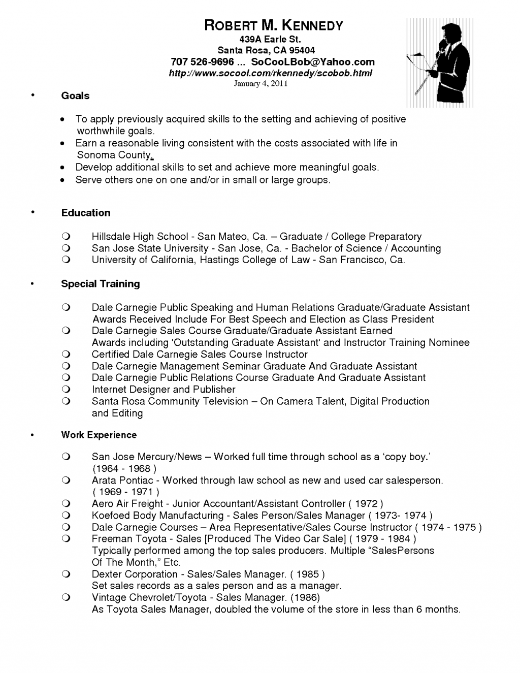 Amazing Car Sales Resume Bullet Points Contemporary Exle Resume
