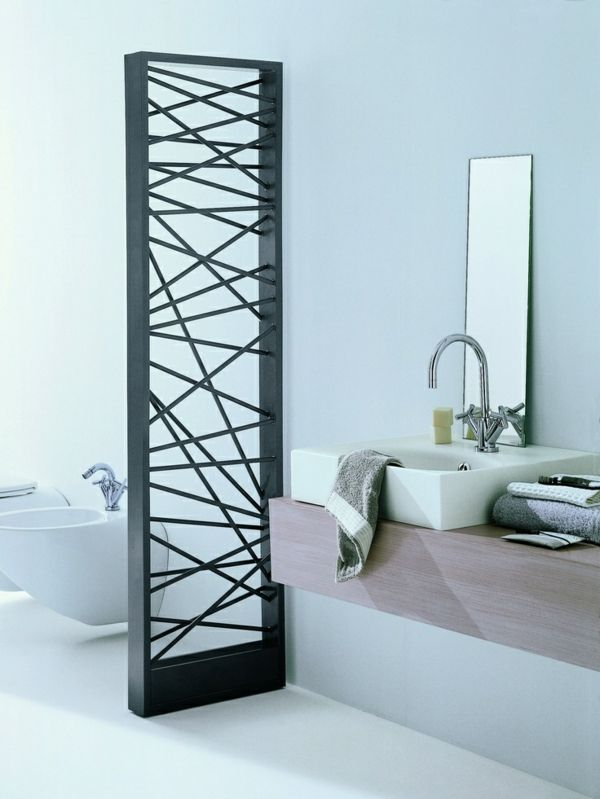 super cooler Heizkörper im Badezimmer Ideen rund ums Haus