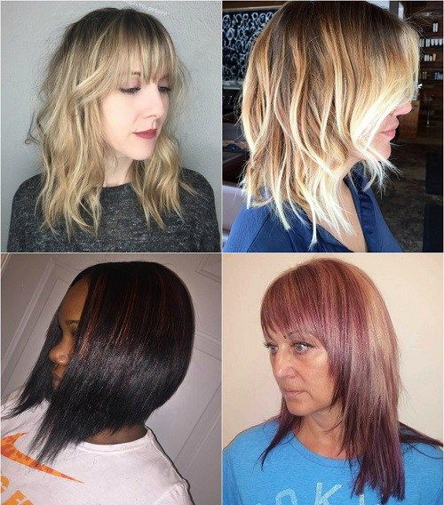 Medium Length Hairstyles For Thick Hair Simple 80 Sensational Medium Length Haircuts For Thick Hair  Choppy