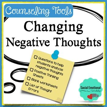 how to change negative thinking