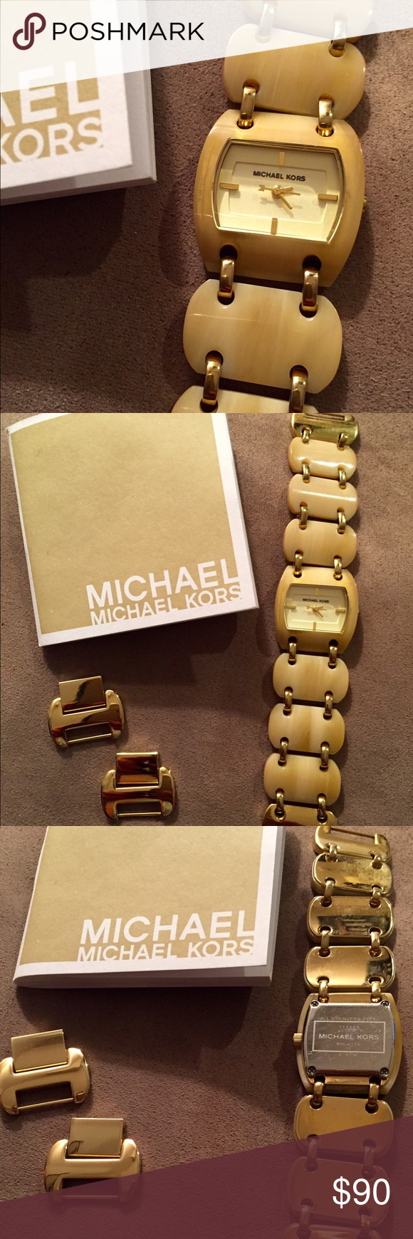 Michael Kors watch Original Michael Kors ceramic watch, almost new, I used it less than 5 times. Michael Kors Accessories Watches