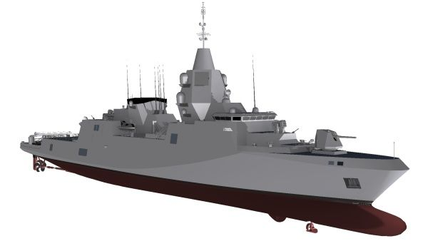 Modern Battleship Design naval ship design MTG ...