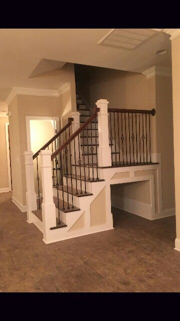 Dog kennel under stairs .. Built in kennel pet friendly home ...