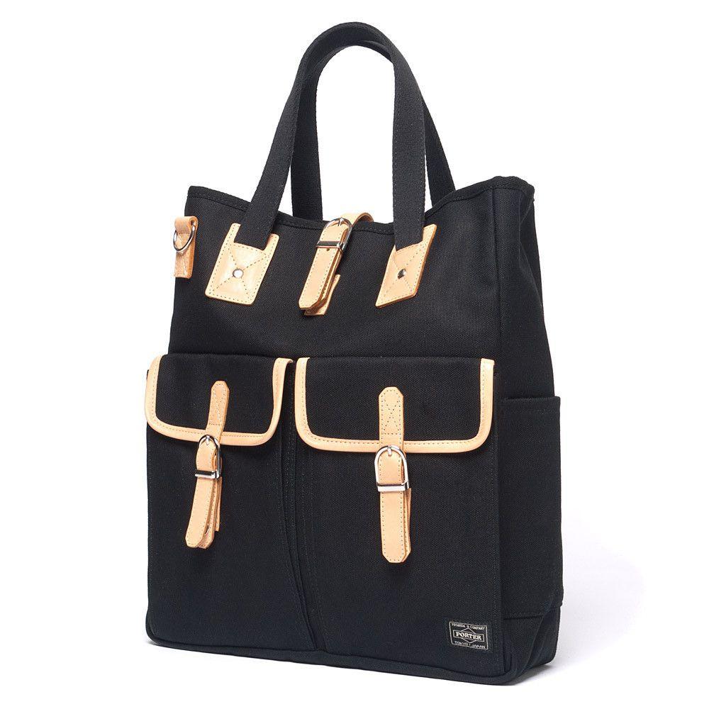 HeadPorter LX x Canvas Tote Bag