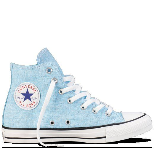 Blue Chuck Taylor Washed Neon Shoes   Chuck Taylor Shoes  4468c5085a