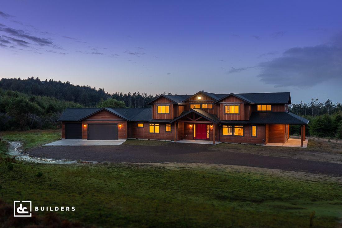 Custom home in gold beach oregon dc builders custom