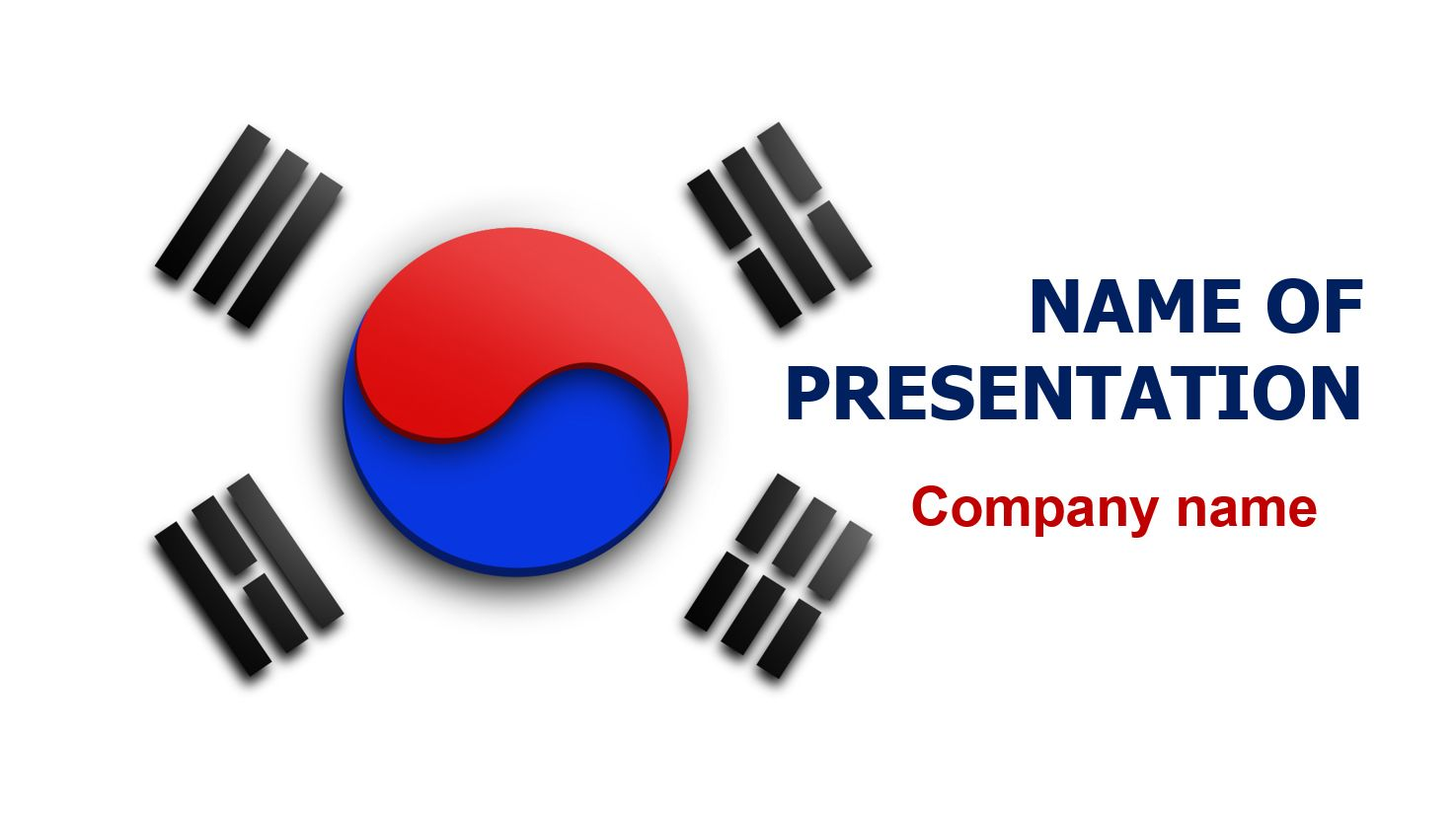 Flag of south korea powerpoint theme this beautiful and creative flag of south korea powerpoint theme this beautiful and creative powerpoint theme will be a great choice for presentations about life in south korea toneelgroepblik Images