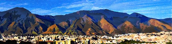 montaña de colores- cerro avila obra digital J.M. 2017