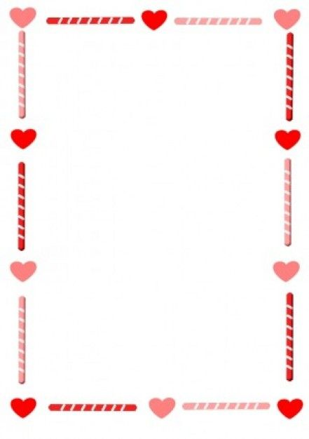 Heart and Candy Border Vector clip art - Free vector for free ...