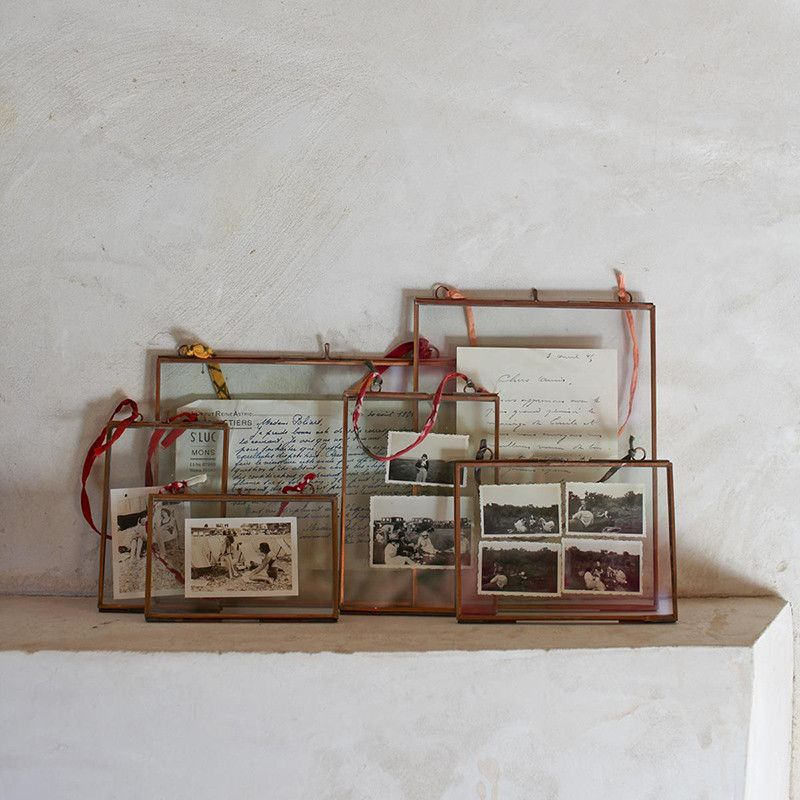 Kiko Glass and Copper Picture Frame - Landscape from Ruby Roost ...