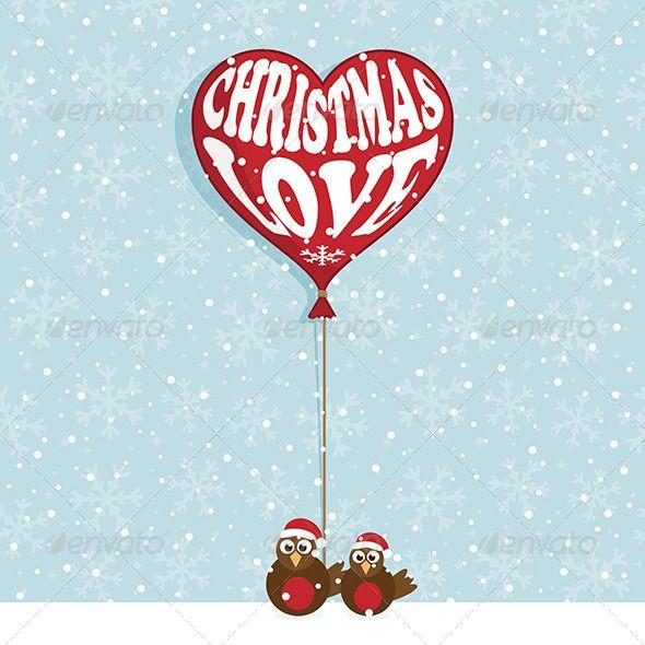 Christmas Love Illustrator cs5