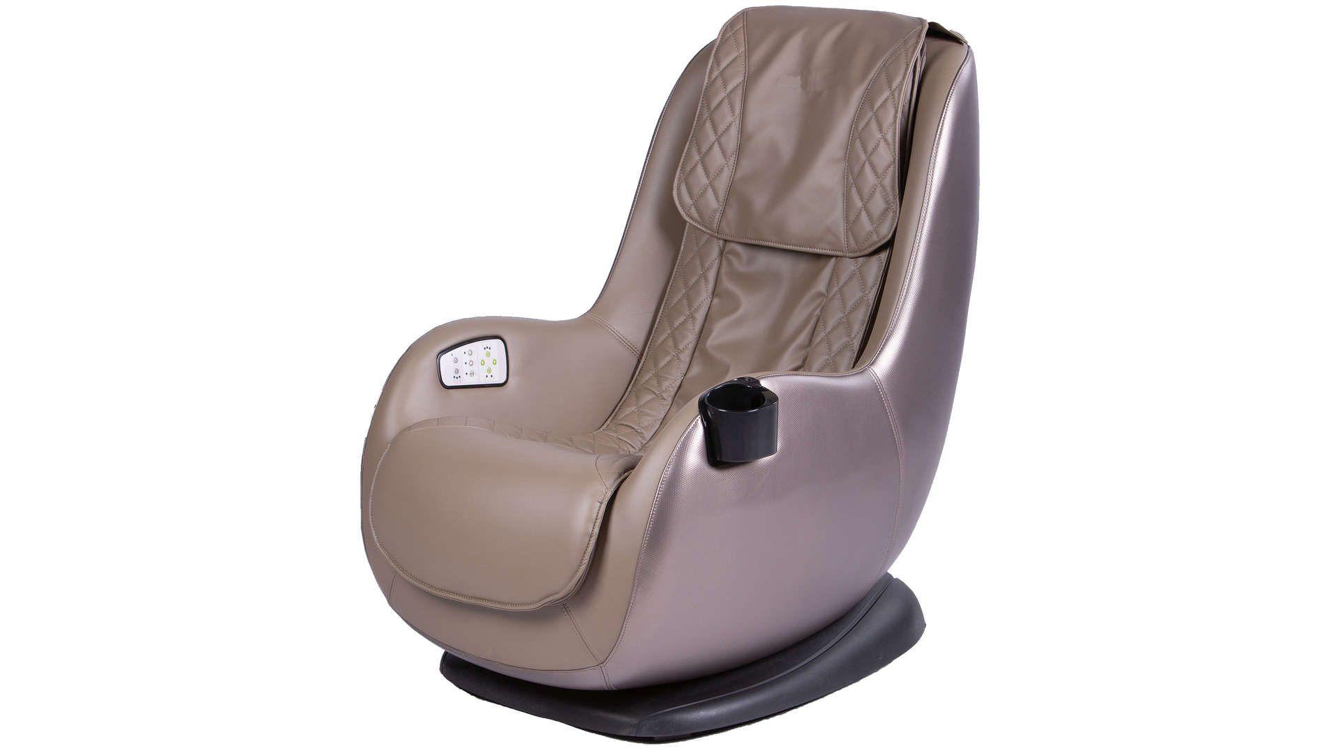 Fauteuil Massant Electrique Et De Relaxation Massage Coloris Beige Marron En 2020 Fauteuil Massant Fauteuil Et Relax