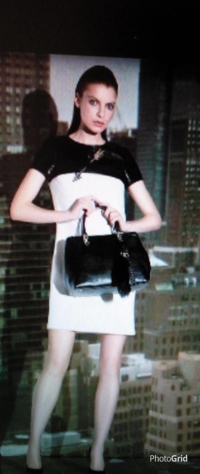 bienvenido otoño y el blanco y negro...vestido cavalli class #bienvenidootoño bienvenido otoño y el blanco y negro...vestido cavalli class #bienvenidootoño