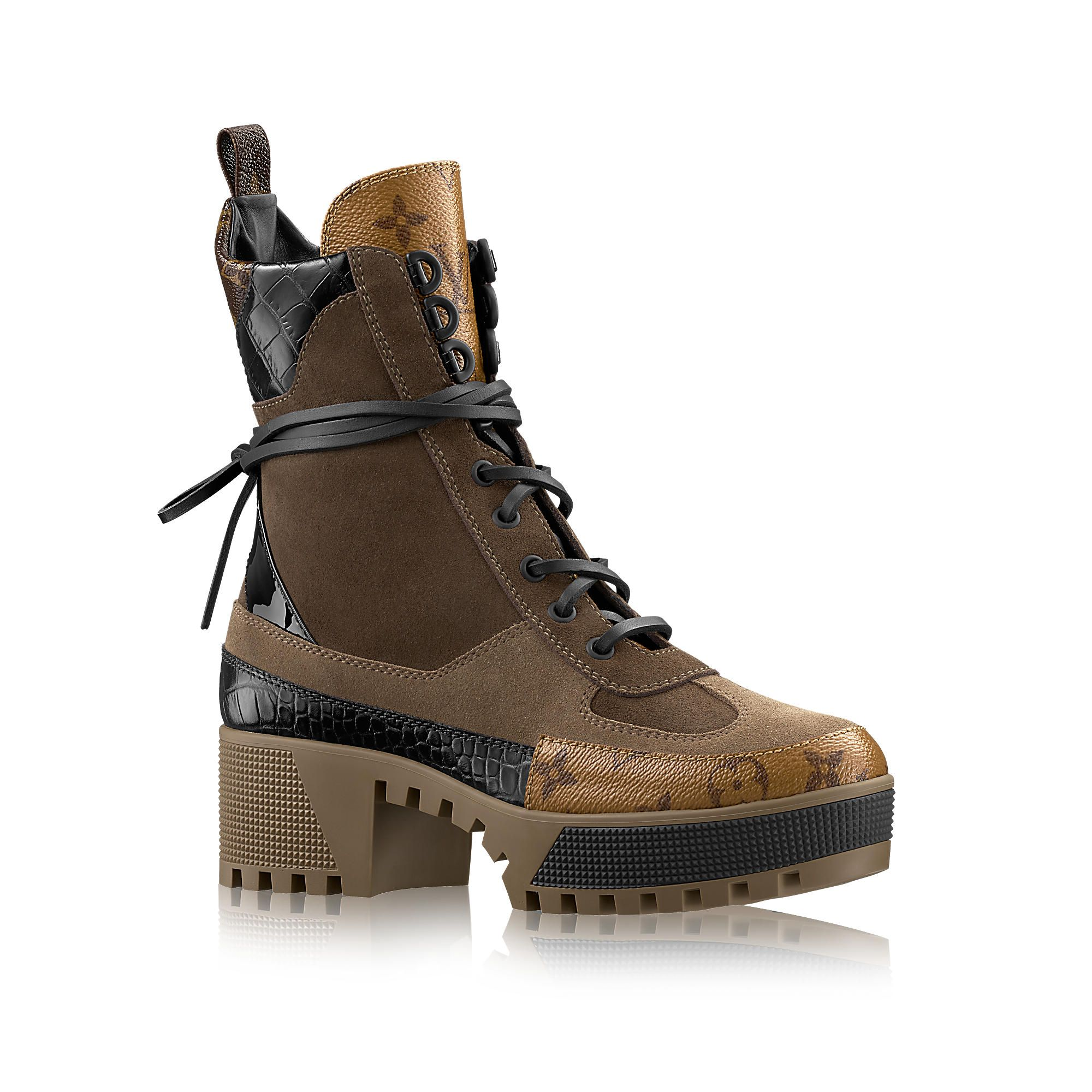 f17aabfd6c54 Really like these boots!! LV Laureate Platform Desert Boot